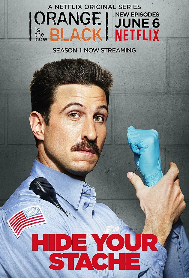 Orange is the New Black Season 2 Poster Pornstache Mendez