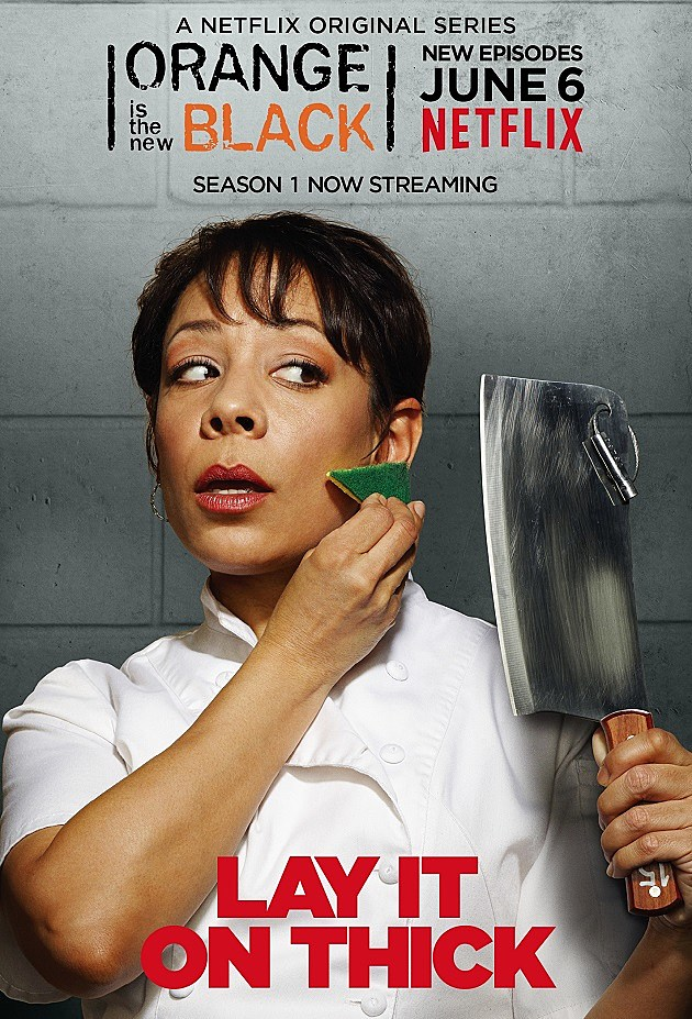 Orange is the New Black Season 2 Poster Gloria