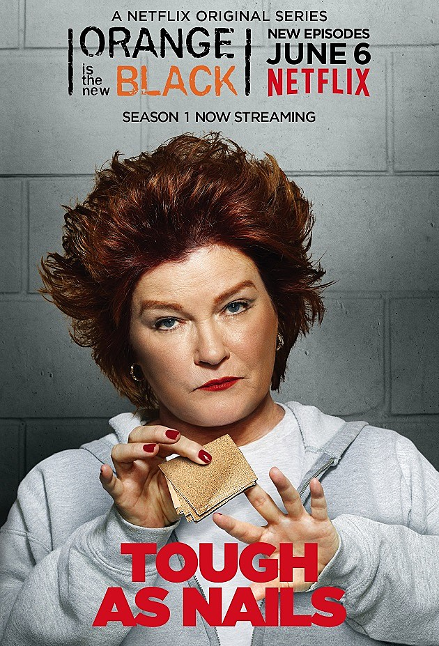 Orange is the New Black Season 2 Poster Red Kate Mulgrew