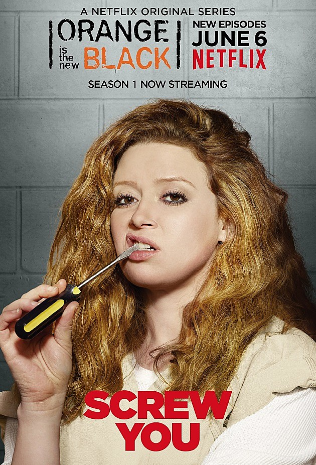 Orange is the New Black Season 2 Poster Nicky