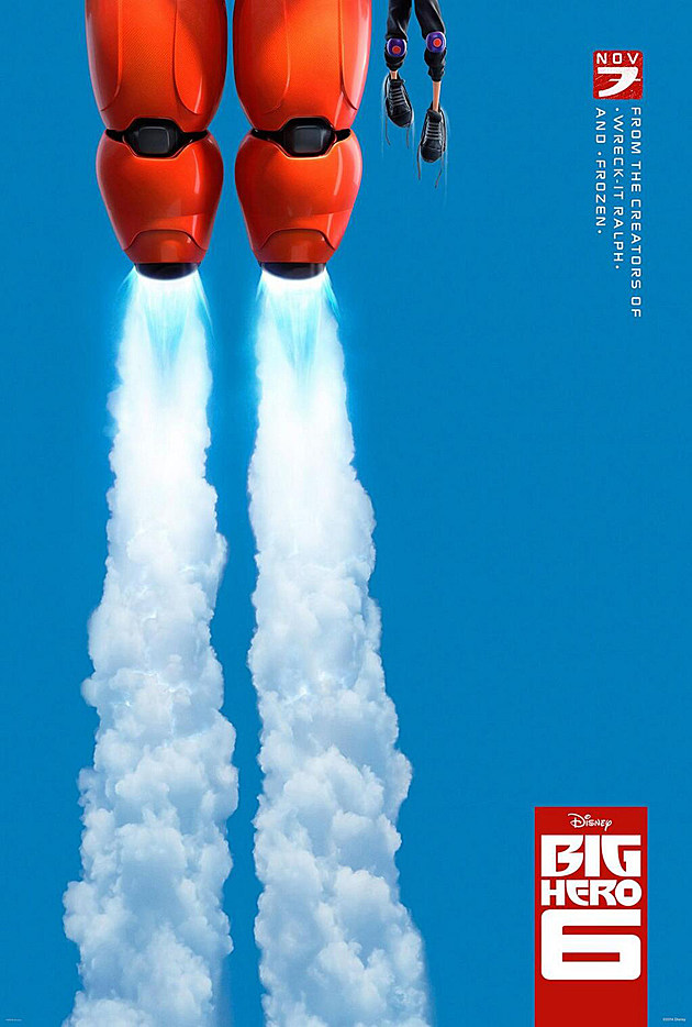 Big Hero 6 Poster Marvel Disney