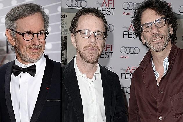 Steven Spielberg, Joel Coen, Ethan Coen