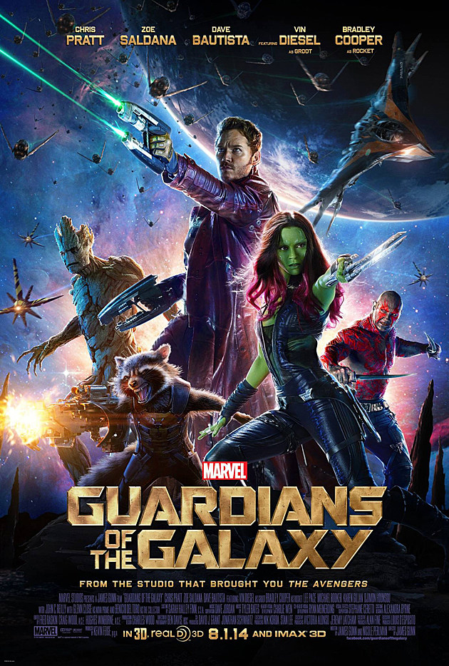 Guardians of the Galaxy Poster 2