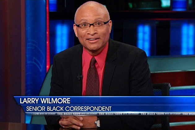 Colbert Report Replacement Larry Wilmore Minority Report
