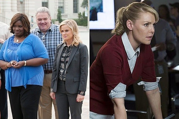 NBC Fall 2014 Schedule Trailers Parks Katherine Heigl
