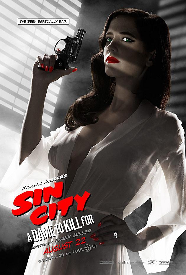 Eva Green Sin City 2 Plakat