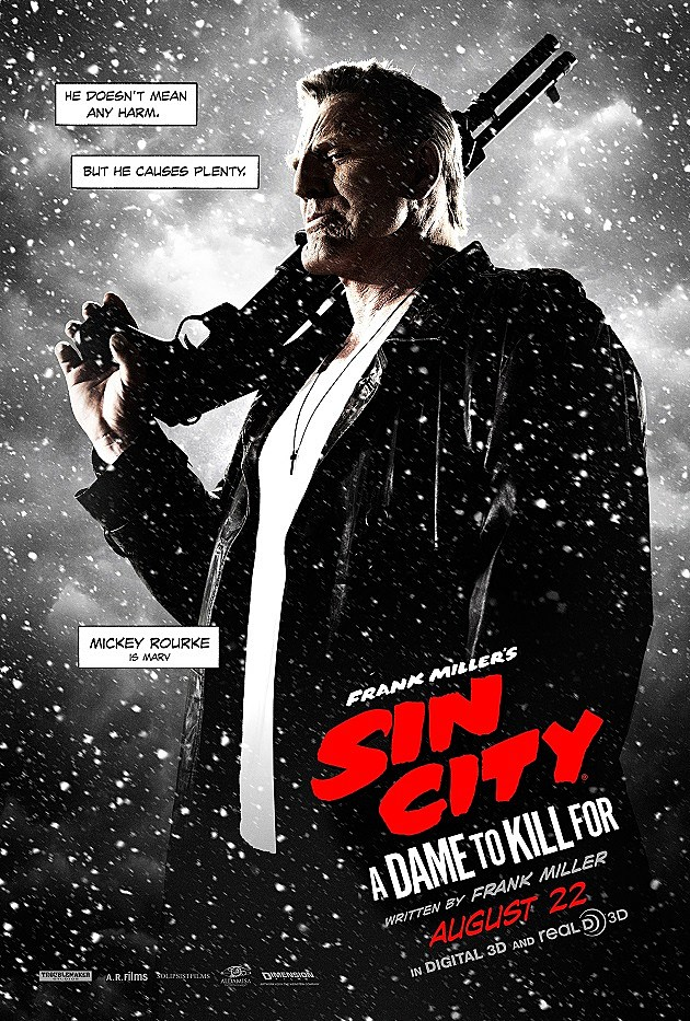 'Sin City 2' Gives Its Main Characters the Poster Treatment