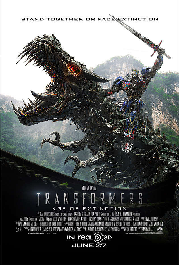 Transformers Age Of Extinction Poster Optimus Prime 'Transformers 4' Pics:...