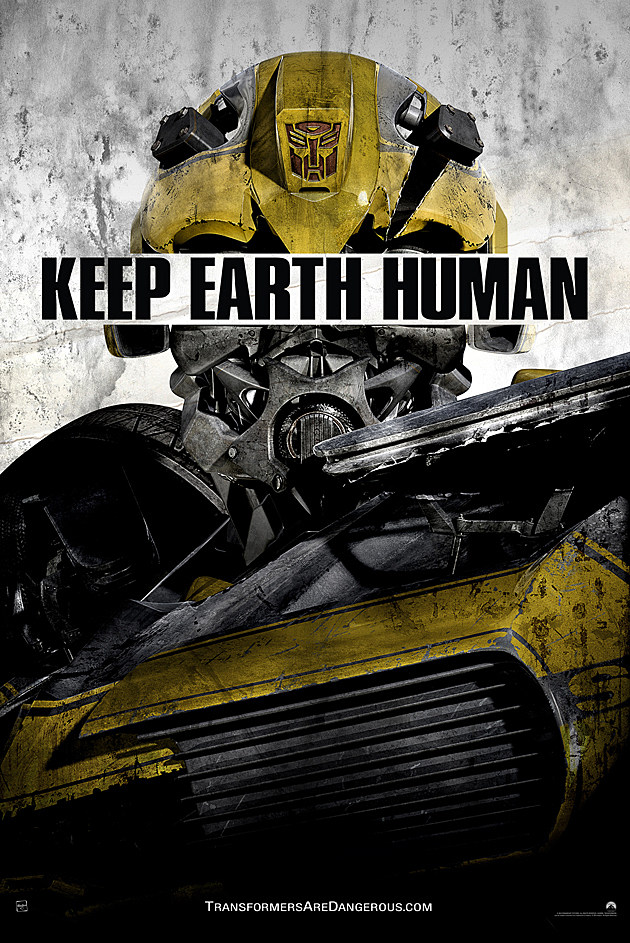 Transformers 4 Posters Keep Earth Human