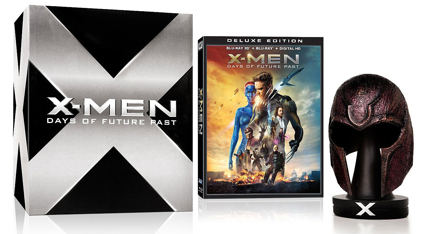 X-Men Days of Future Past Blu-ray Deluxe Edition