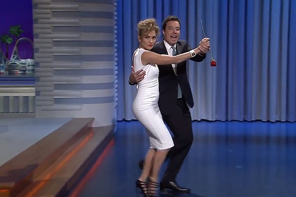 J-Lo and Jimmy Fallon Team Up to Make Jennifer Lawrence Jealous