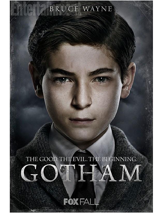 FOX Gotham Poster Bruce Wayne Batman