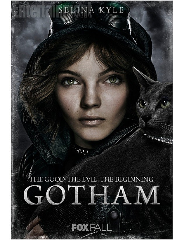 FOX Gotham Poster Selina Kyle Catwoman