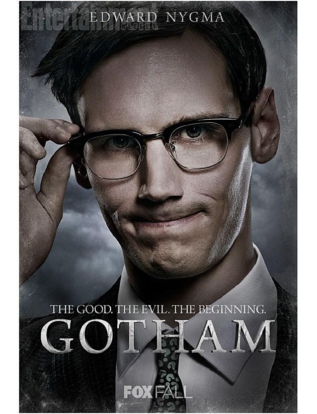 FOX Gotham Poster Edward Nygma Riddler