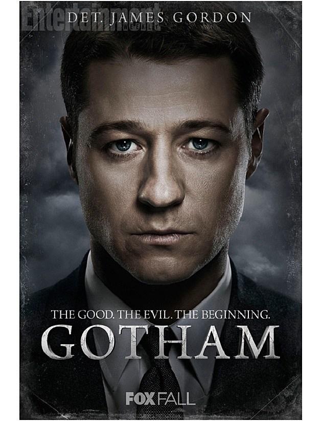 FOX Gotham Poster Jim Gordon Ben McKenzie