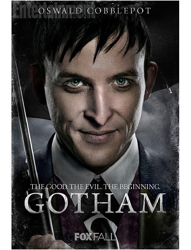 FOX Gotham Poster Penguin Oswald Cobblepot