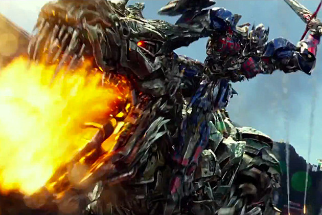 Transformers 4 Blu-ray