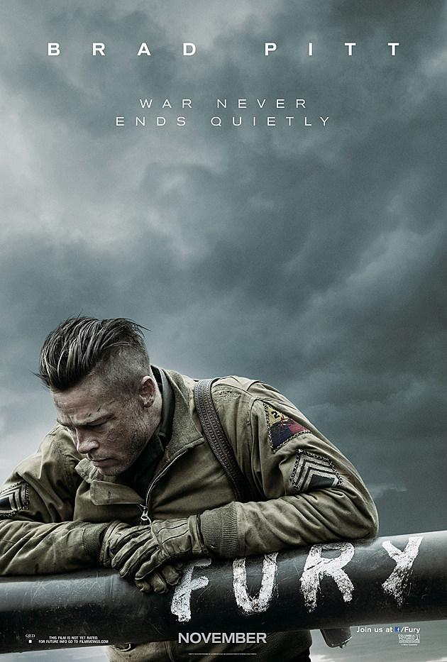 Fury Poster Brad Pitt