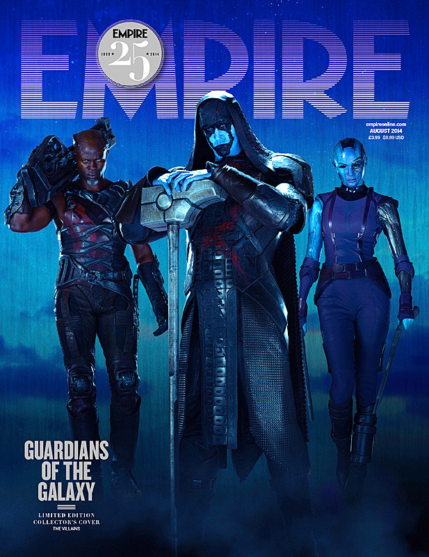 Guardians of the Galaxy Empire Cover Villains