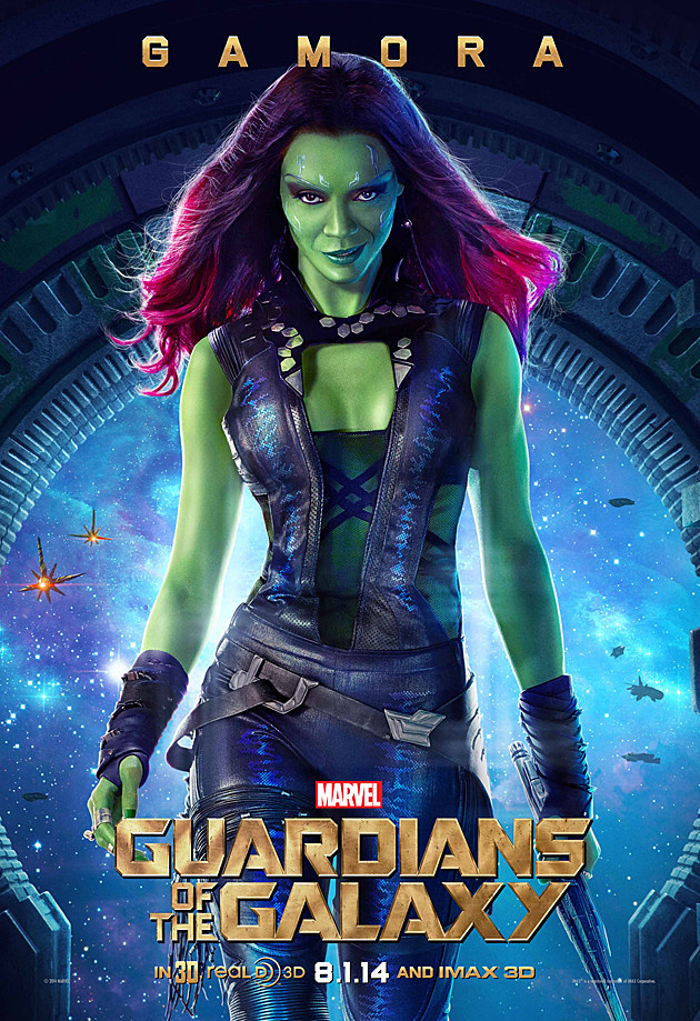 Guardians of the Galaxy Poster Gamora