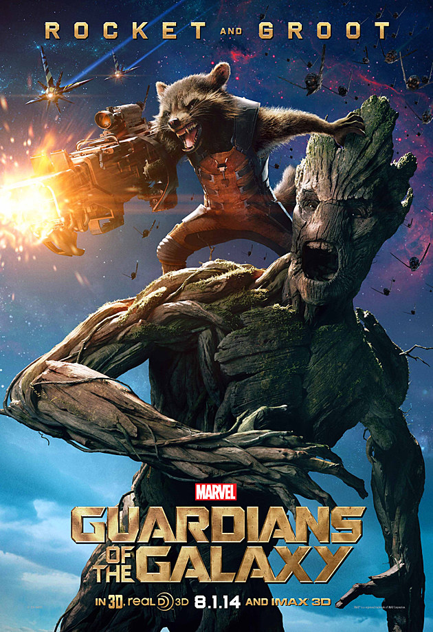 Guardians of the Galaxy Poster Rocket Groot