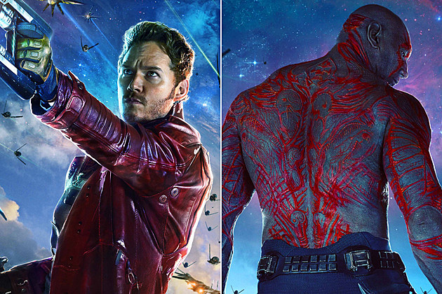 'Guardians of the Galaxy' Posters Feature Star-Lord and Drax