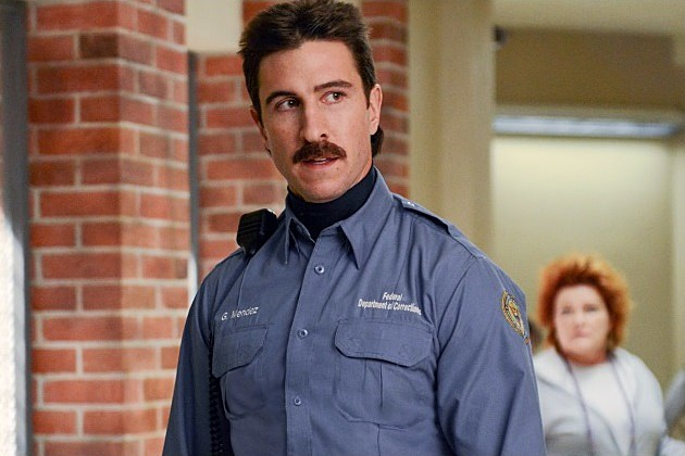 Orange is the New Black Season 3 Pornstache Pablo Schreiber Mendoza