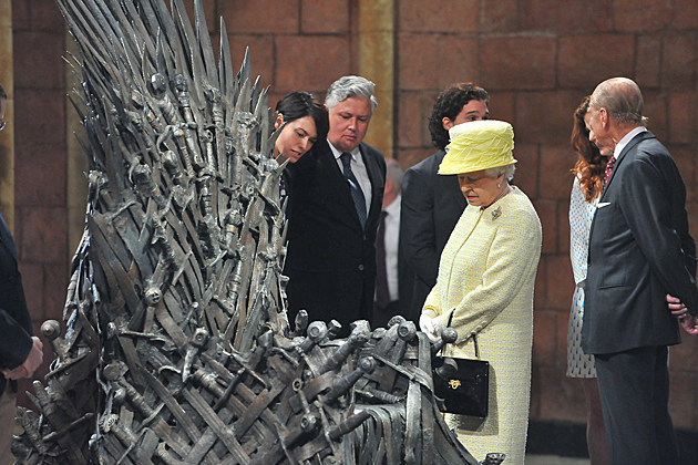 Queen Elizabeth Iron Throne Game of Thrones