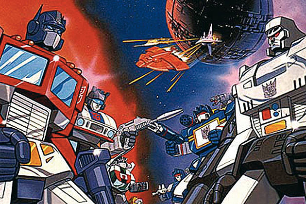 Transformers Cartoon 80s