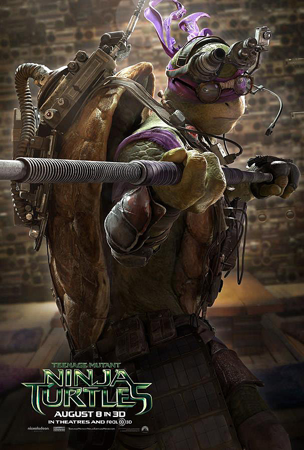 TMNT 2 Character Posters: Watchful Guardians in a Half-Shell |Tmnt 2014 Poster 911