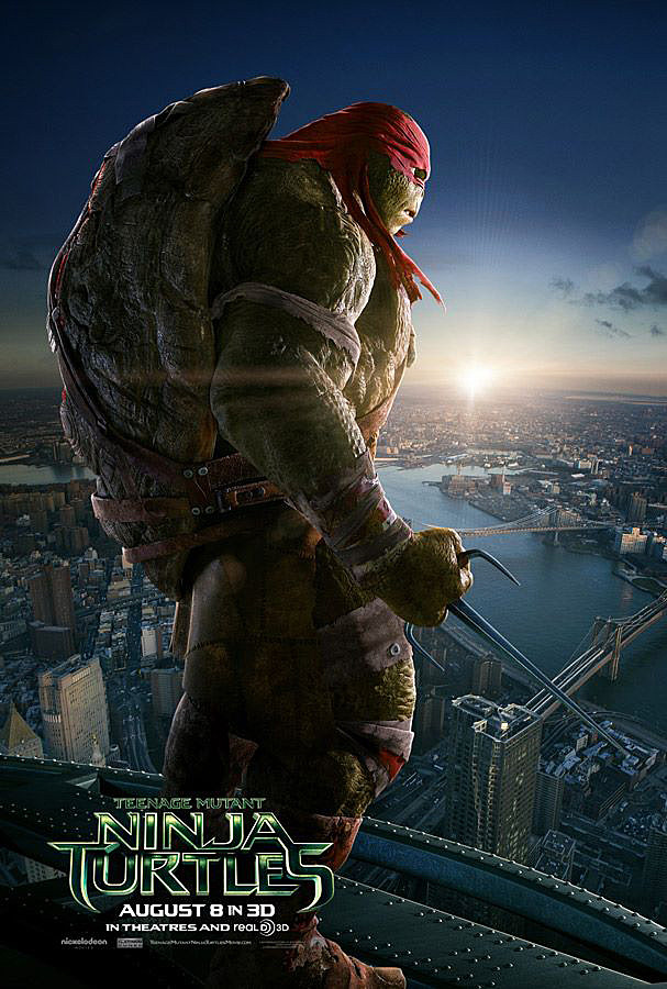 TMNT Movie Poster Raphael