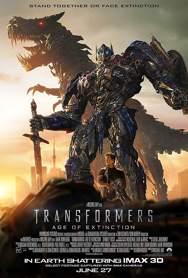 Transformers 4 Poster IMAX