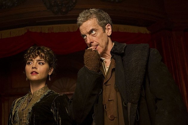 Doctor Who Season 8 Premiere Photos Deep Breath