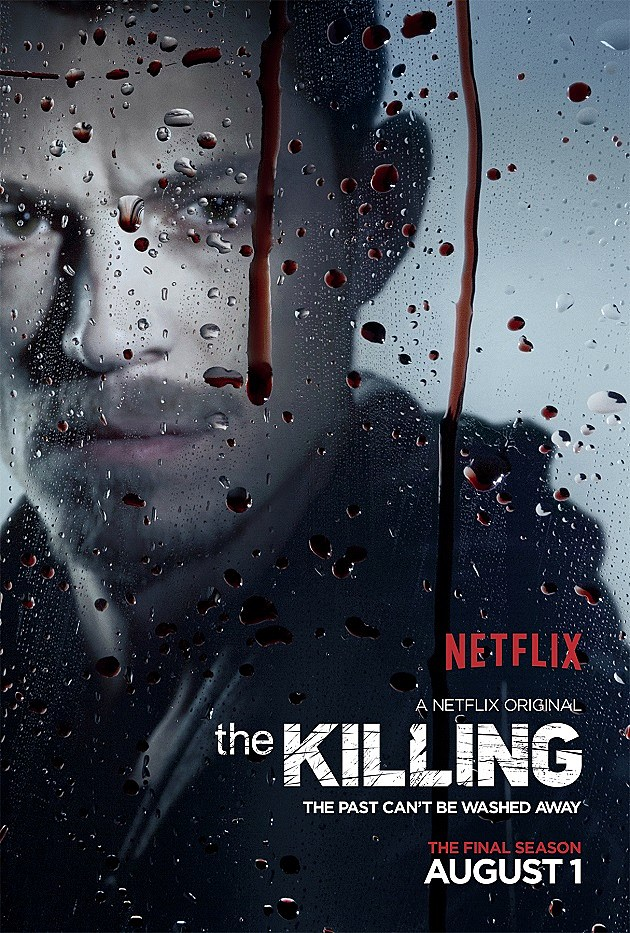 The Killing Final Season 4 Poster Joel Kinnaman