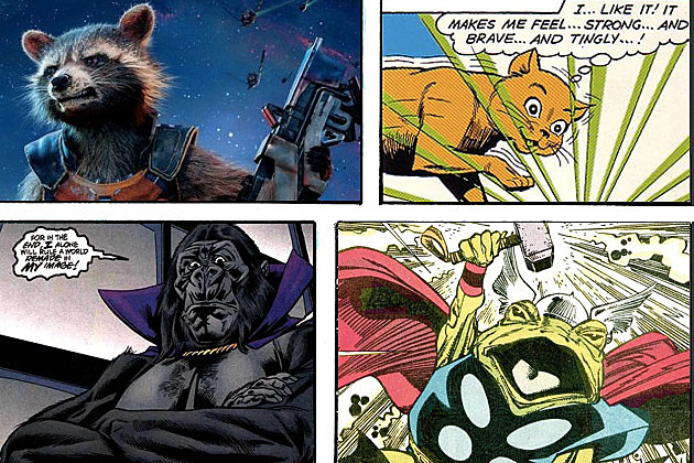 Animal Superheroes
