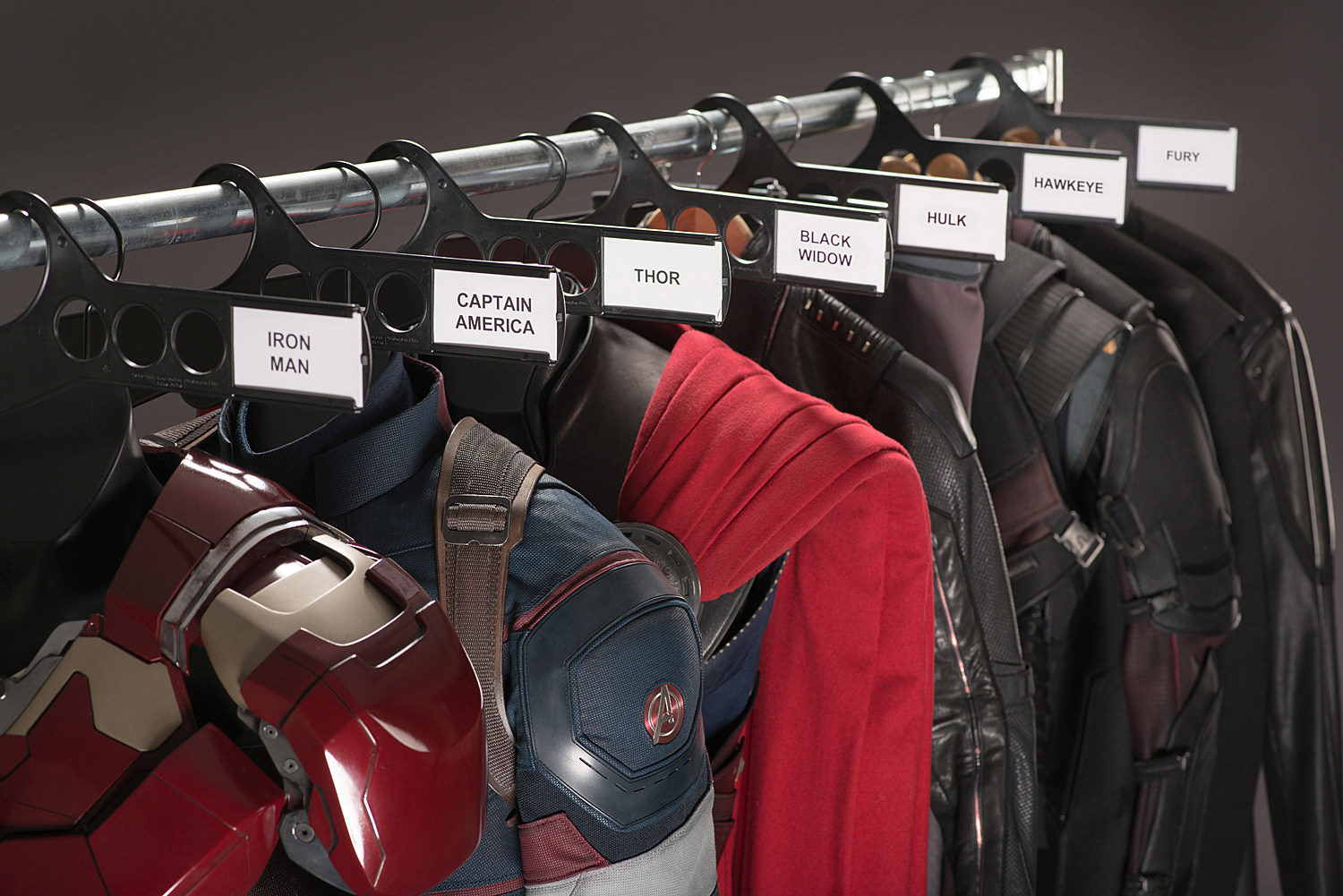 Avengers 2 BTS Photo Costumes