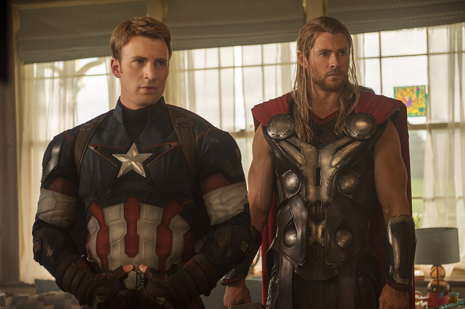 Avengers 2 Photo Captain America Thor