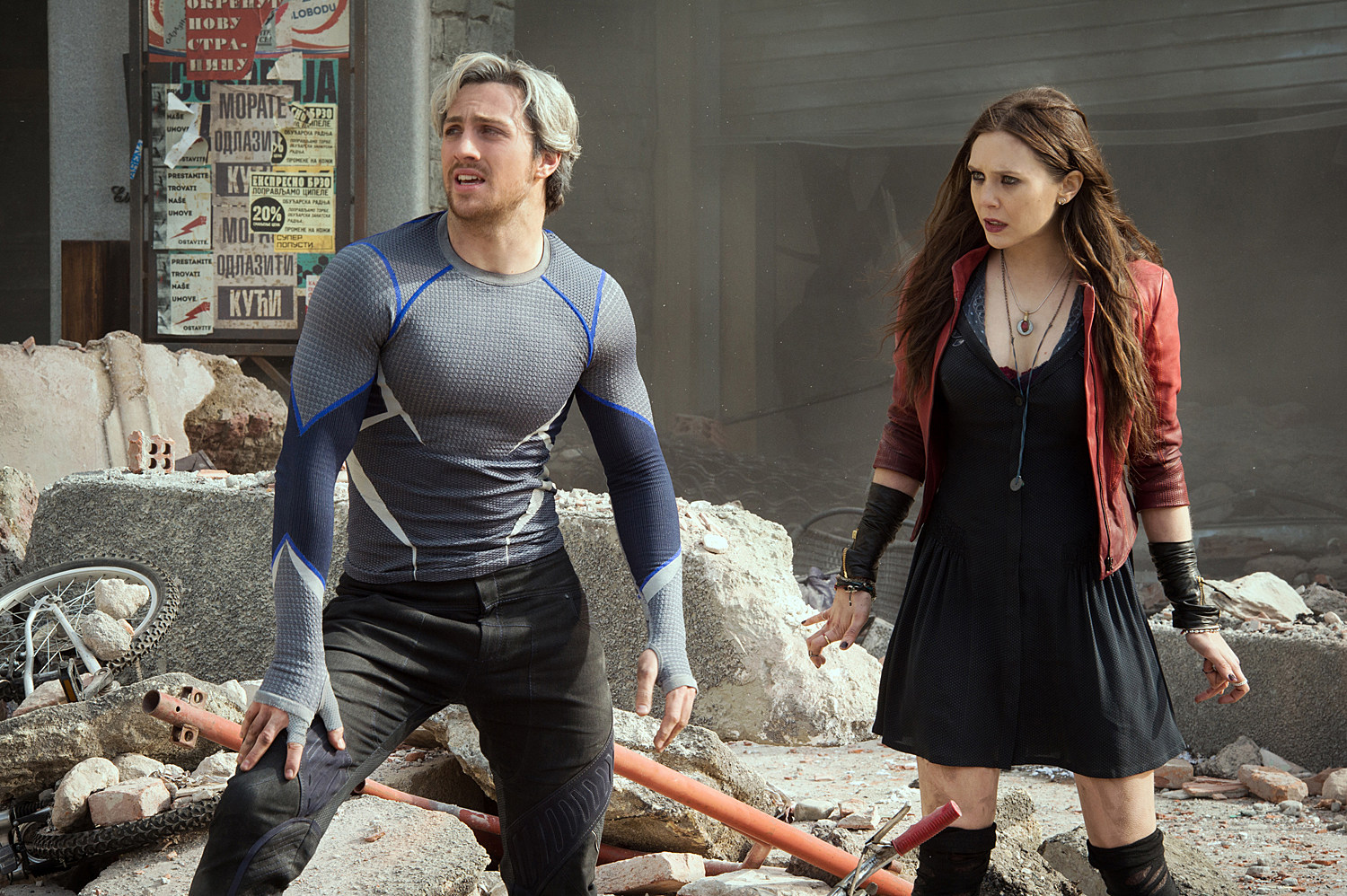 Avengers 2 Photo Scarlet Witch Quicksilver