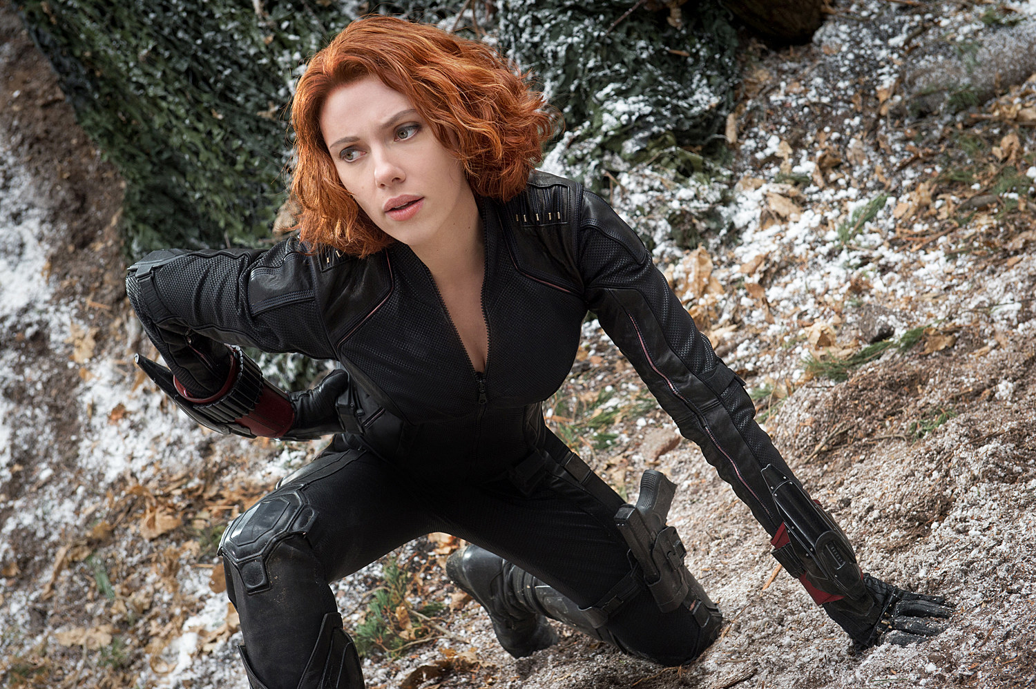 Avengers 2 Photo Scarlett Johansson Black Widow