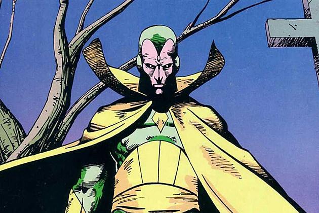 Avengers 2 Vision Origin
