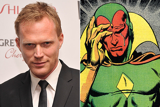 Avengers 2 Vision Paul Bettany