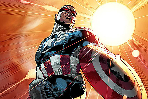 Captain America Sam Wilson The Falcon