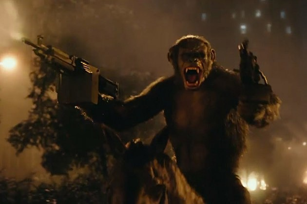Dawn of the Planet of the Apes alternate ending