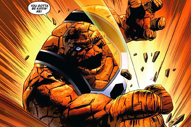 Fantastic Four The Thing Leak