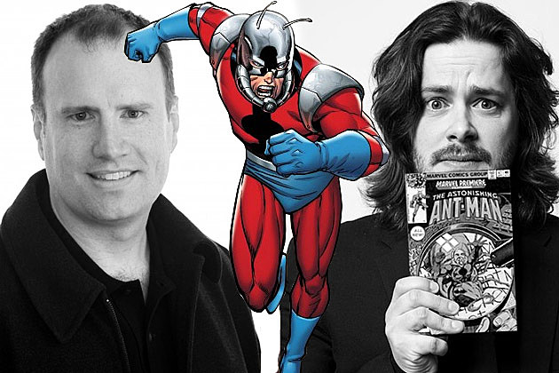Kevin Feige Ant Man Edgar Wright
