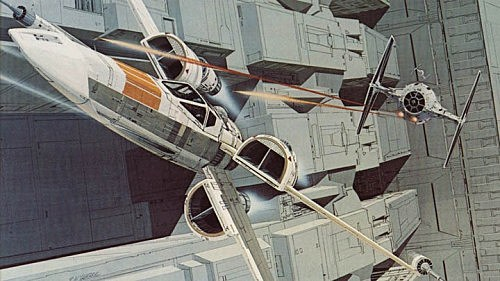 Ralph McQuarrie X Wing Star Wars Episode 7