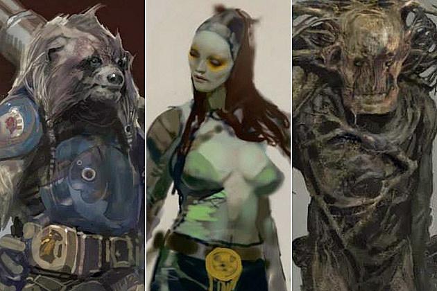 concept art galaxy Guardians
