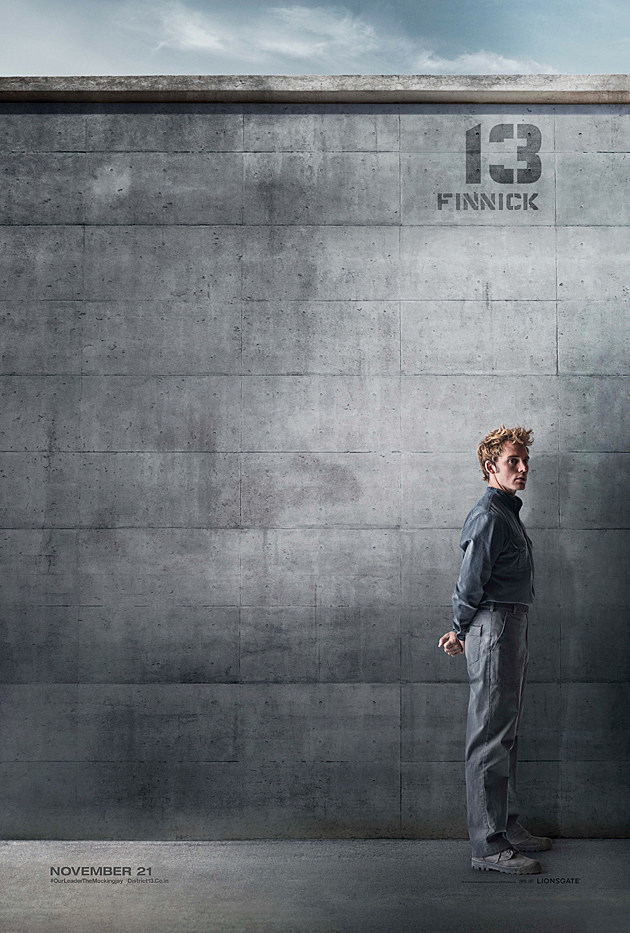 The Hunger Games Mockingjay Poster Finnick