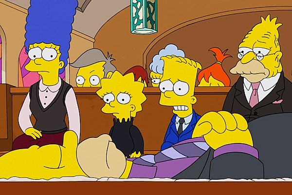 a review of the popular american series the simpsons