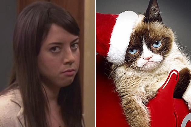 Aubrey Plaza Grumpy Cat Movie